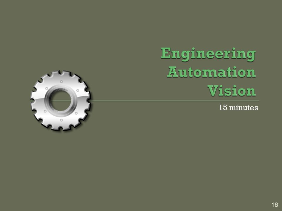Engineering Automation Vision