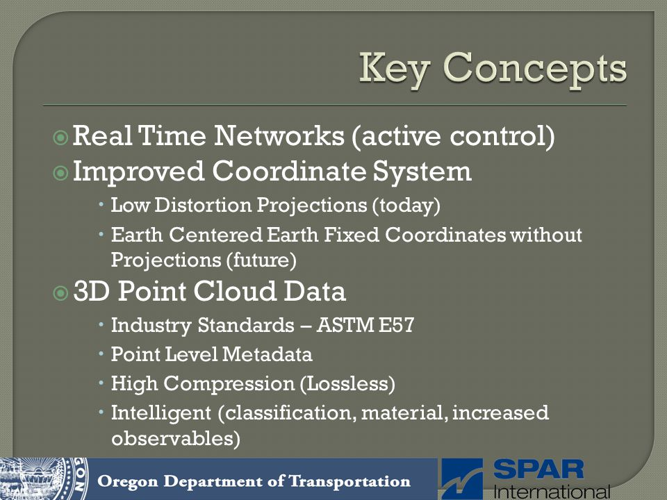 Key Concepts Real Time Networks (active control)
