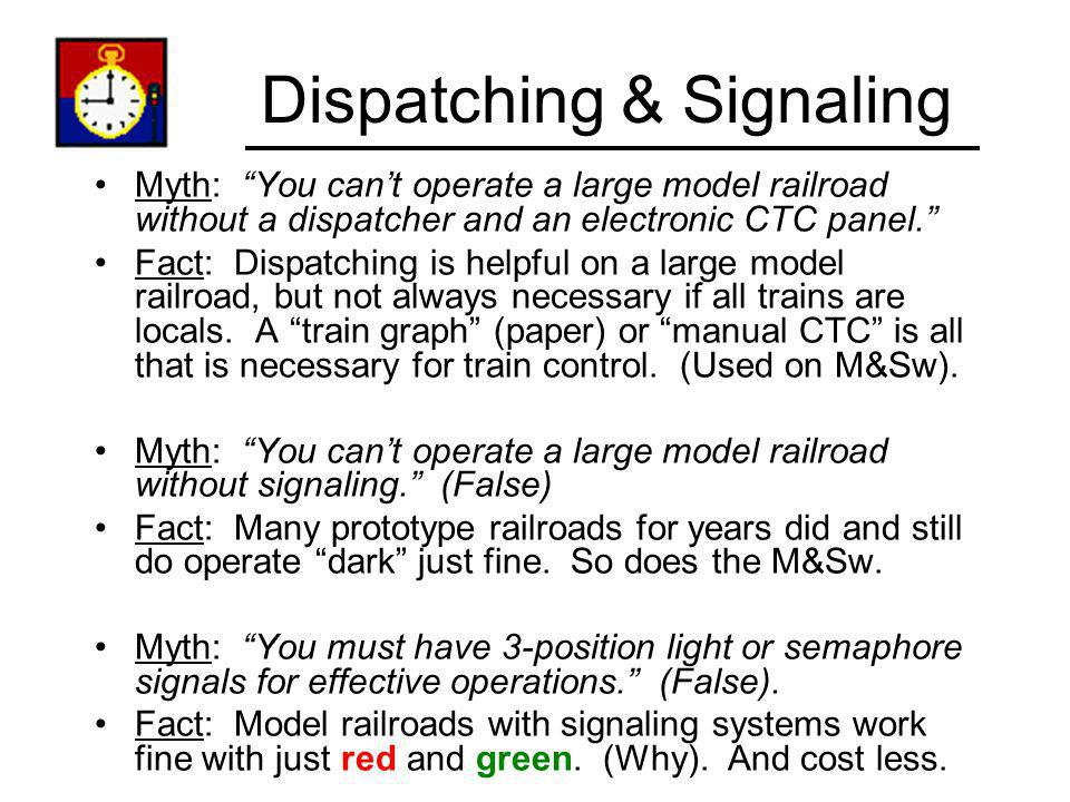 Dispatching & Signaling