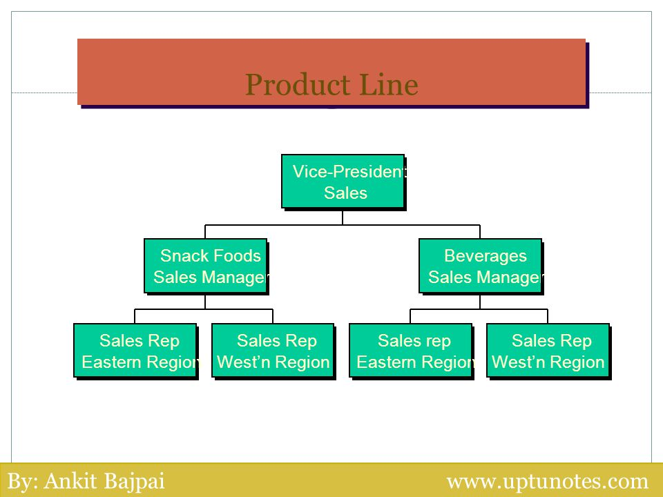 Product Line By: Ankit Bajpai www.uptunotes.com Vice-President Sales