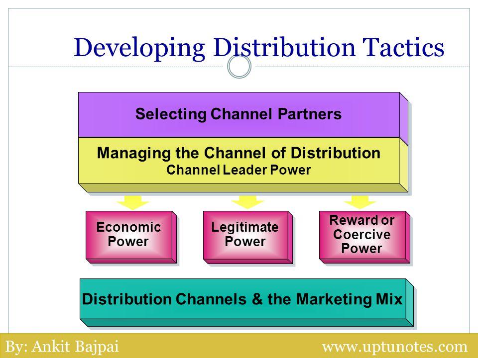 Developing Distribution Tactics
