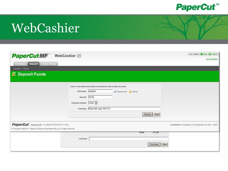 WebCashier