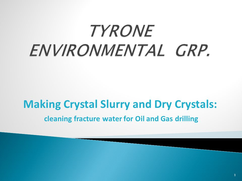 TYRONE ENVIRONMENTAL GRP.
