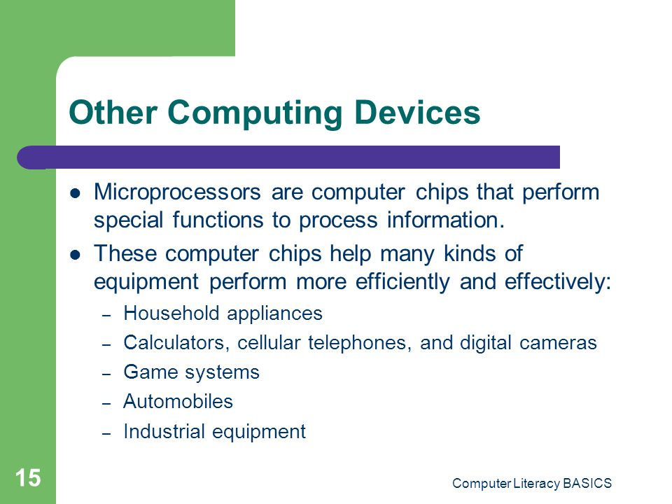 Other Computing Devices