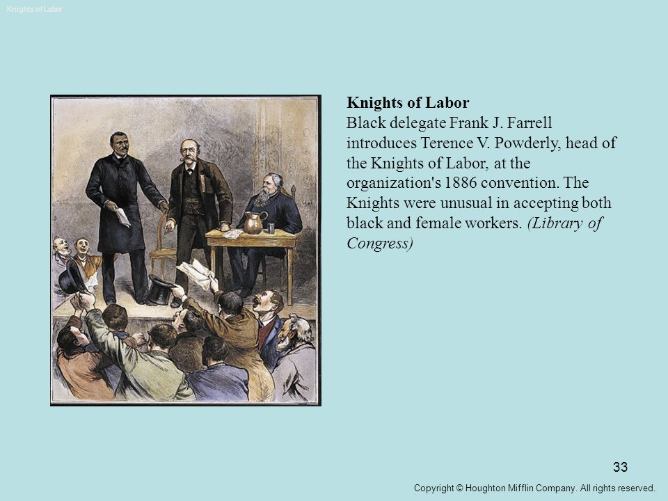 Knights of Labor Knights of Labor.