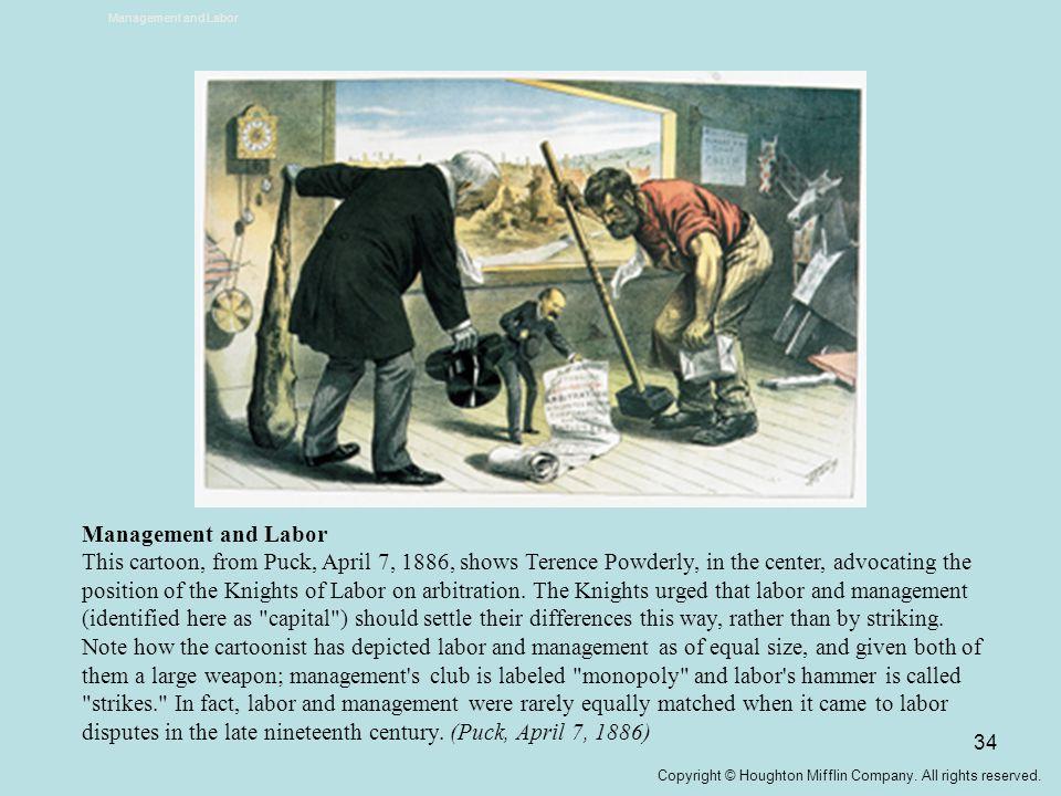 Management and Labor Management and Labor.