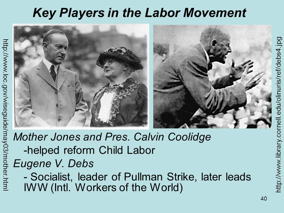 Key Players in the Labor Movement