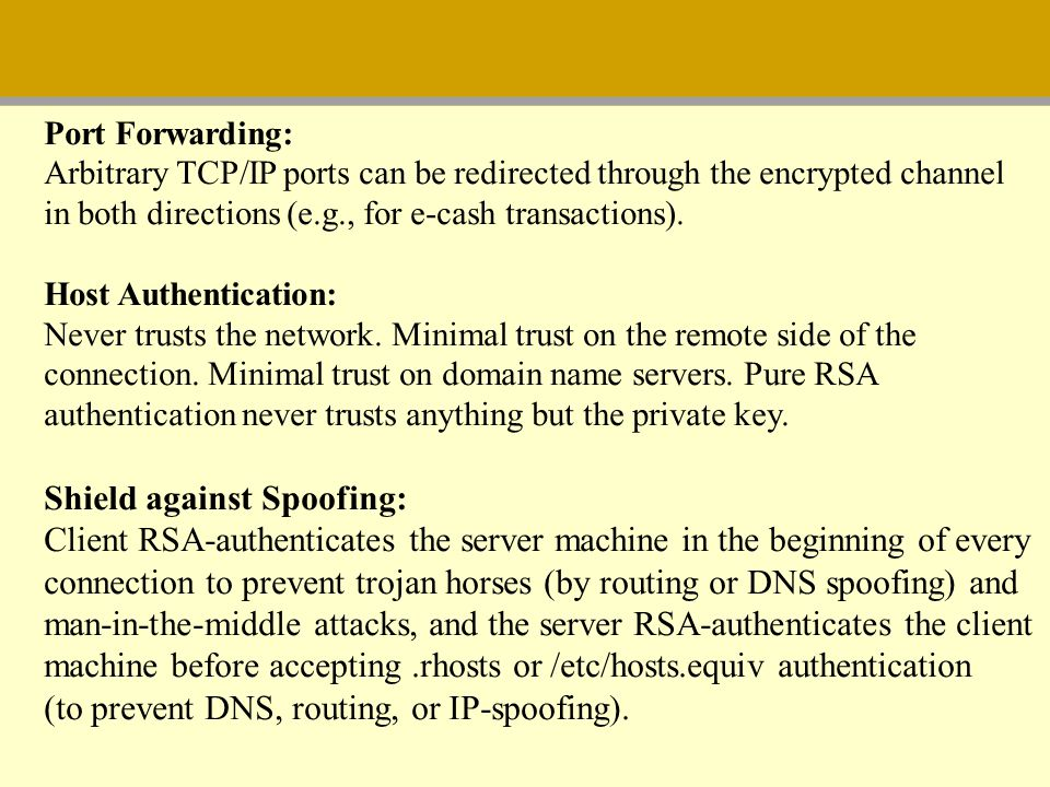 Shield against Spoofing: