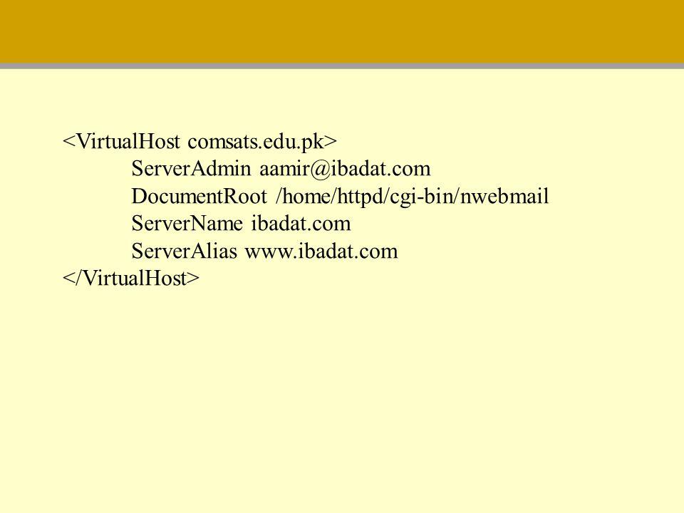 <VirtualHost comsats.edu.pk>