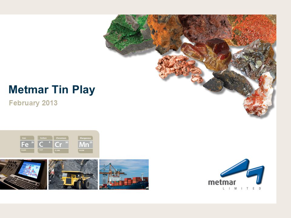 Metmar Tin Play February 2013