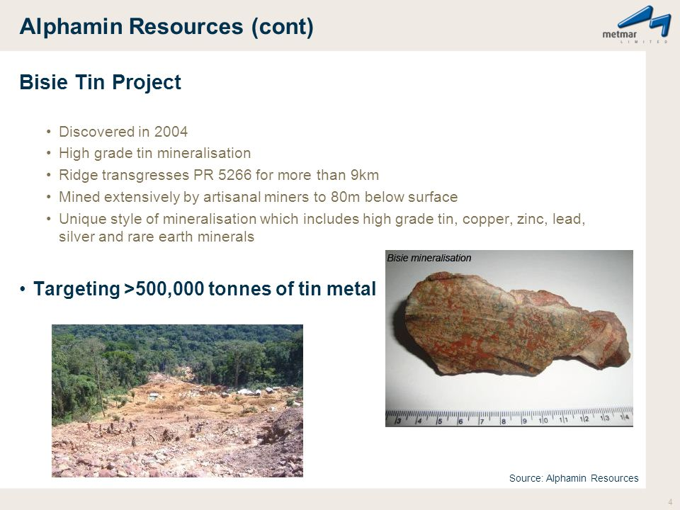 Alphamin Resources (cont)