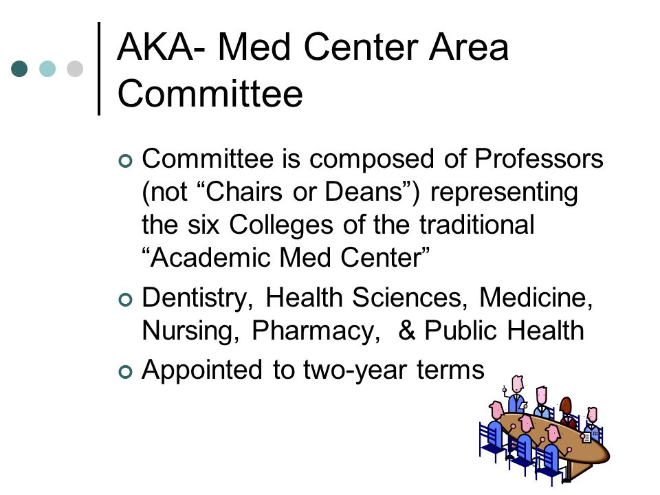 AKA- Med Center Area Committee