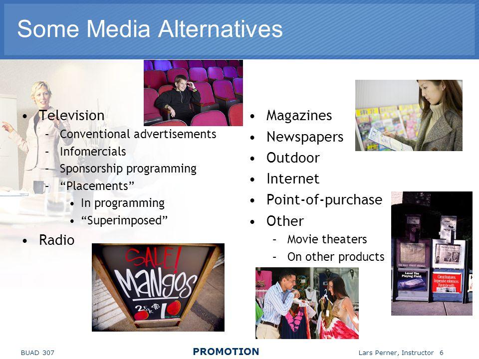 Some Media Alternatives