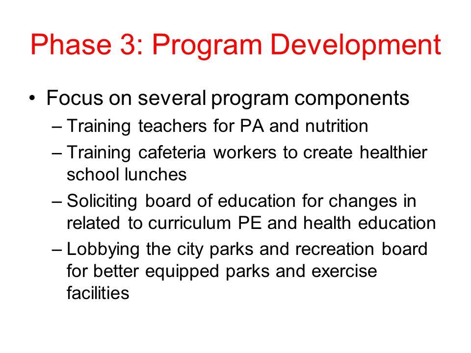 Phase 3: Program Development