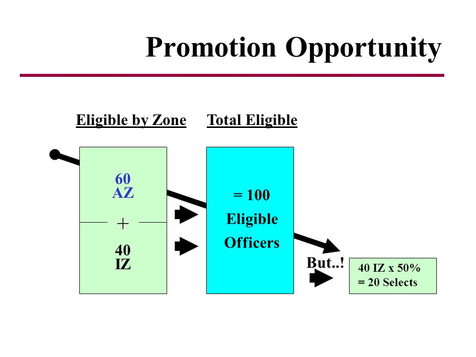 Promotion Opportunity