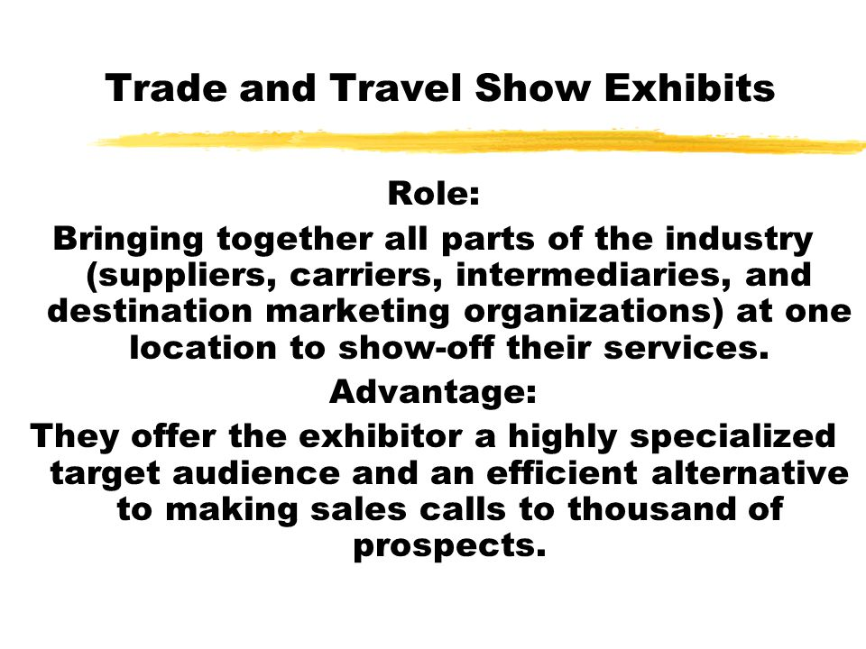 Trade and Travel Show Exhibits