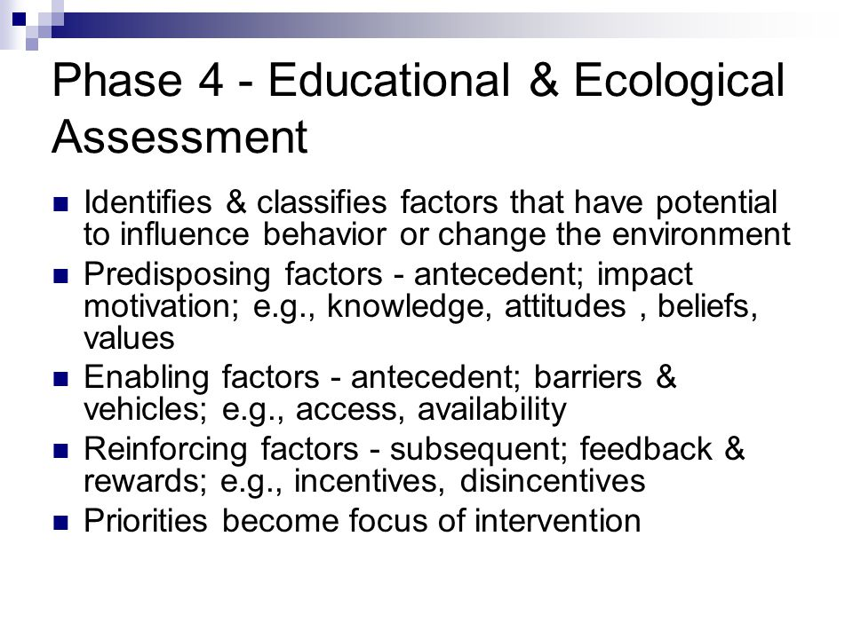 Phase 4 - Educational & Ecological Assessment