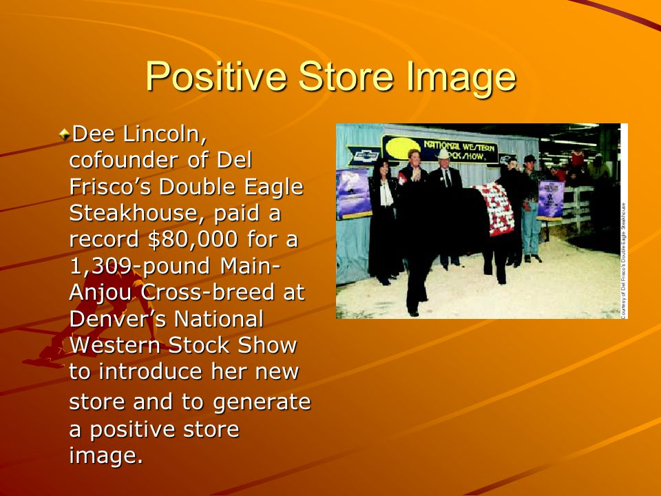Positive Store Image
