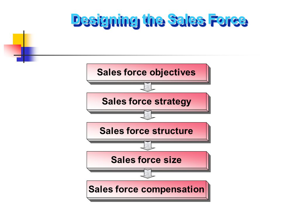 Designing the Sales Force Sales force objectives