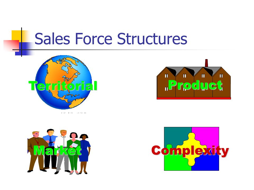 Sales Force Structures