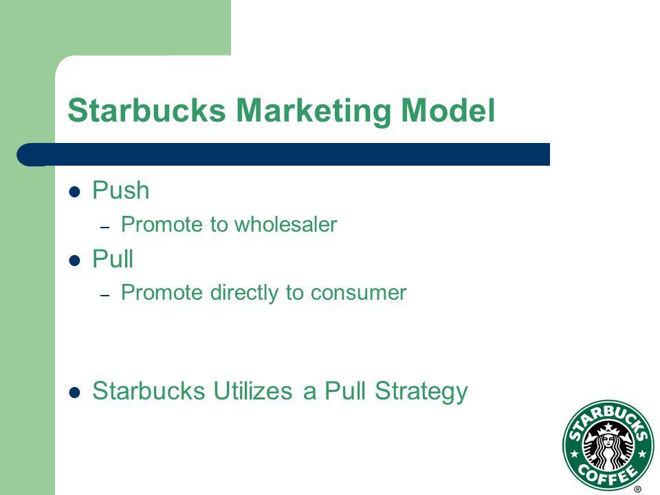 Starbucks Marketing Model