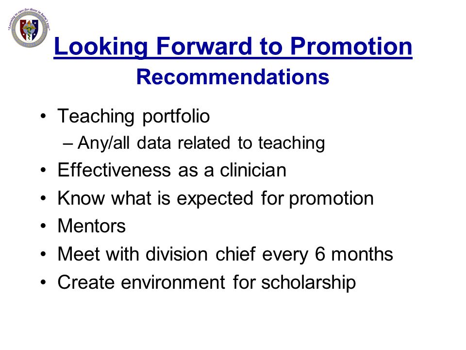 Looking Forward to Promotion Recommendations