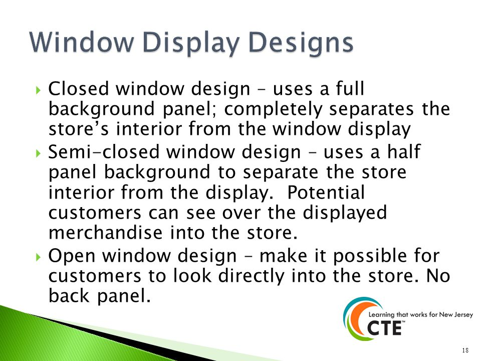 Window Display Designs