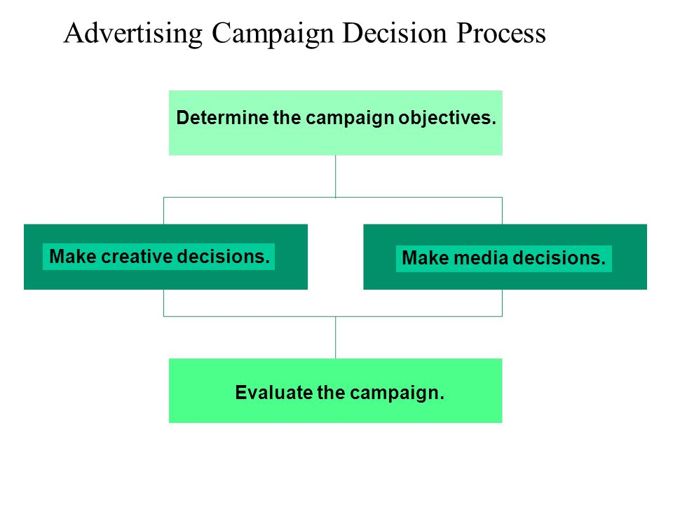 Advertising Campaign Decision Process