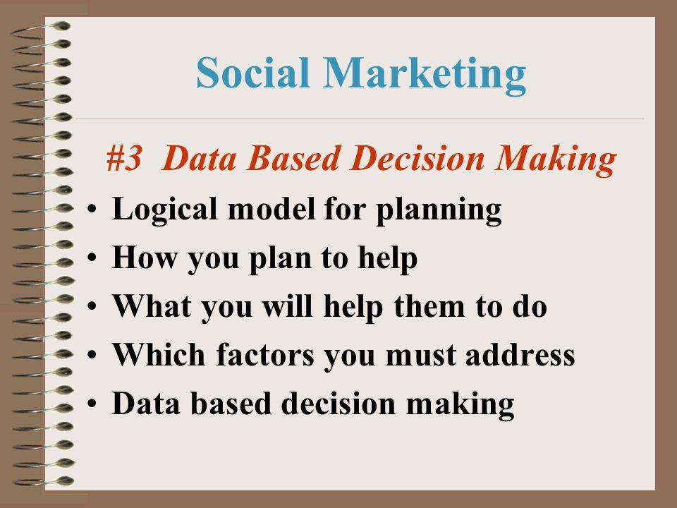 #3 Data Based Decision Making