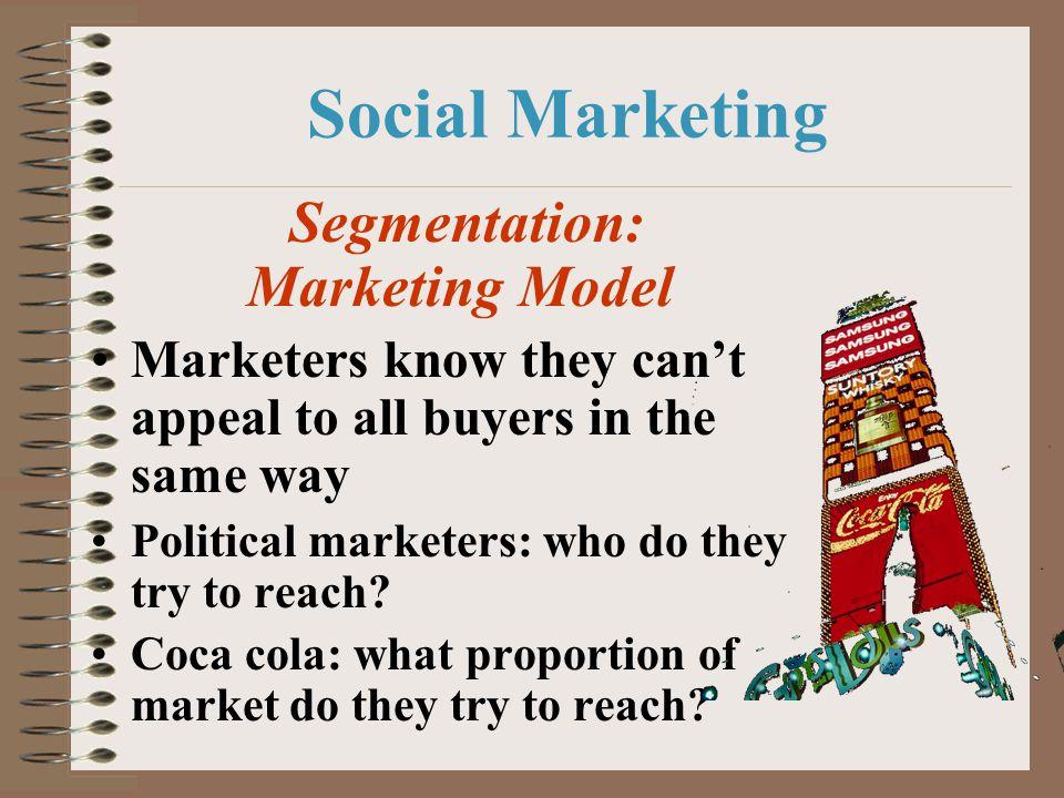 Segmentation: Marketing Model