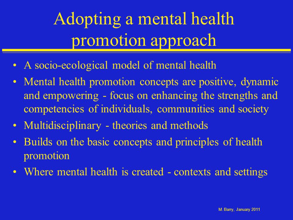 A policy focus on wellbeing
