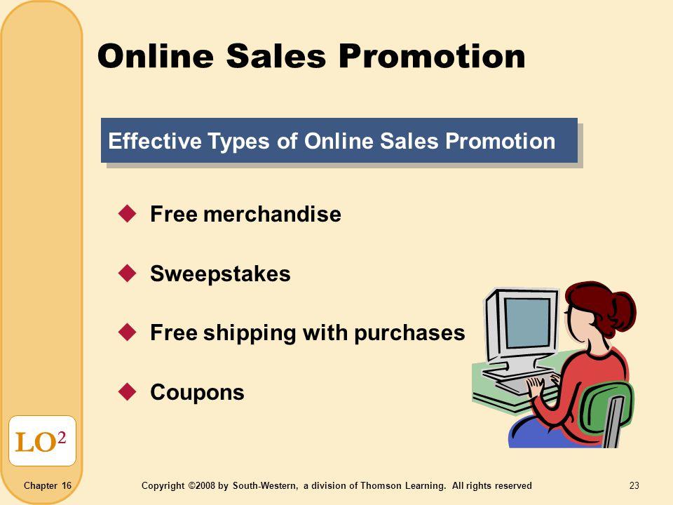 Online Sales Promotion