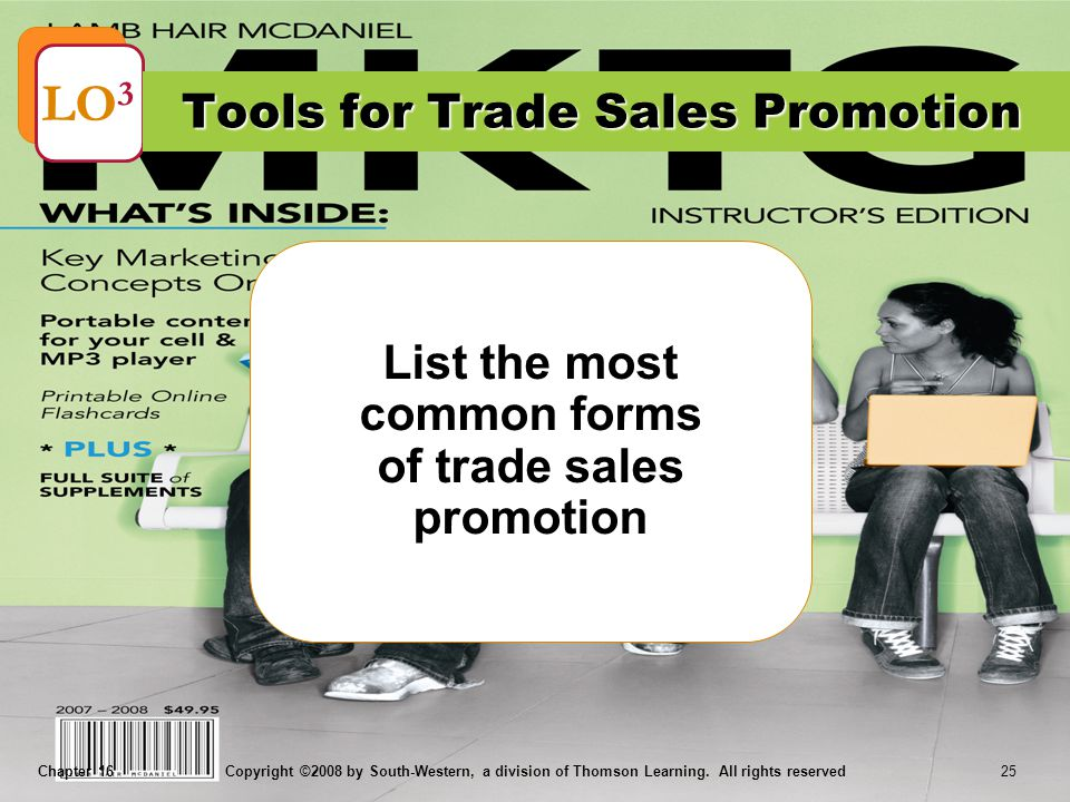 Tools for Trade Sales Promotion