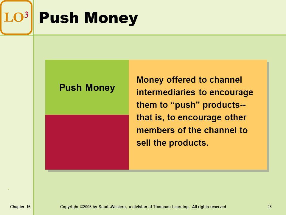 Push Money LO3 Push Money