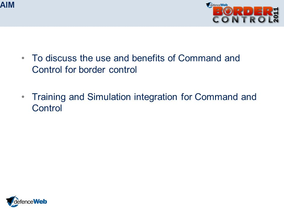 Training and Simulation integration for Command and Control