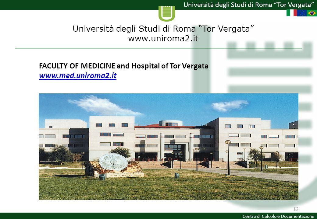 Università degli Studi di Roma Tor Vergata www.uniroma2.it
