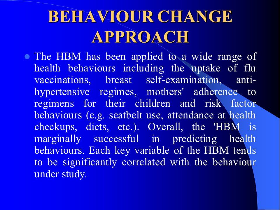 change their health behaviours Full-text paper (pdf): carrots, sticks and health behaviours: a framework for documenting the complexity of financial incentive interventions to change health behaviours.