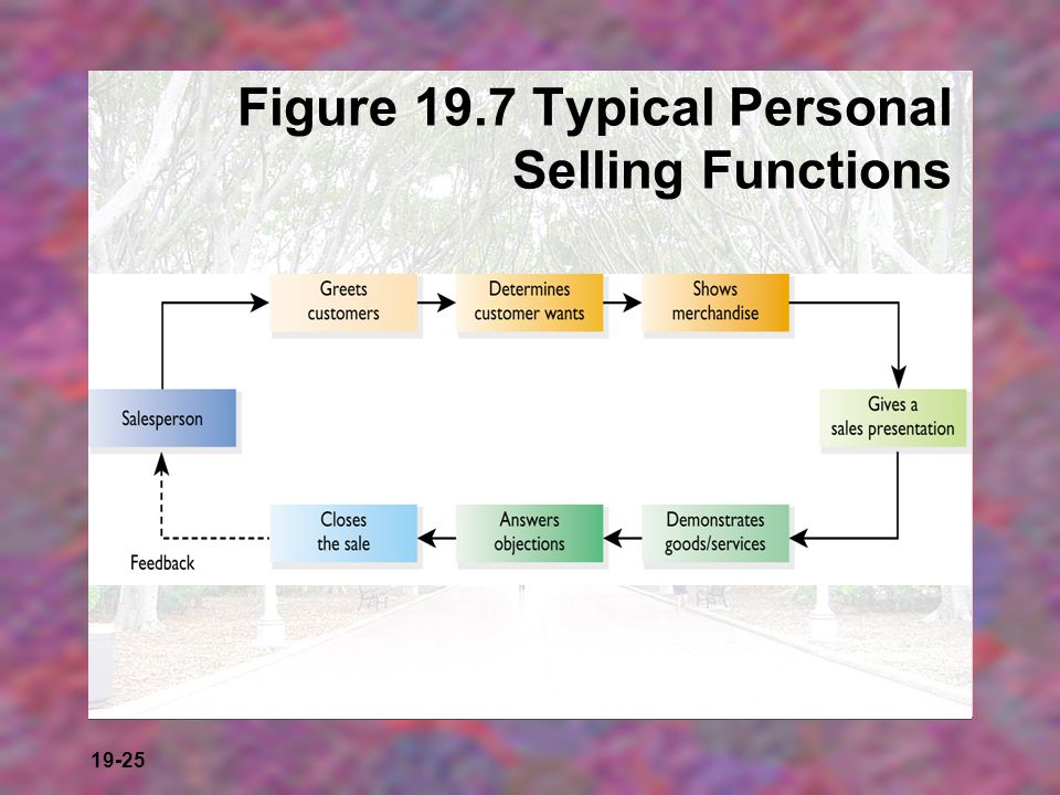 Figure 19.7 Typical Personal Selling Functions