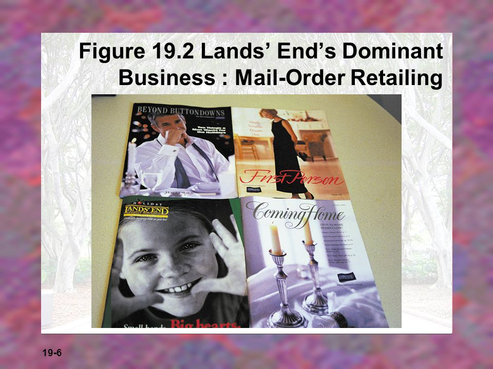 Figure 19.2 Lands' End's Dominant Business : Mail-Order Retailing