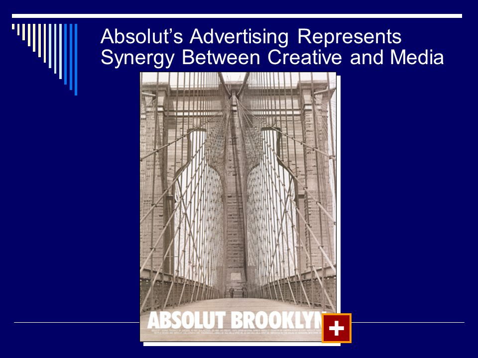 Absolut's Advertising Represents Synergy Between Creative and Media