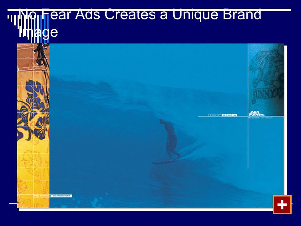 No Fear Ads Creates a Unique Brand Image
