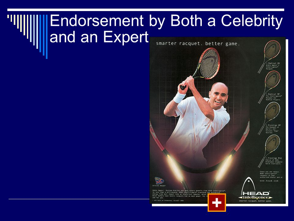Endorsement by Both a Celebrity and an Expert