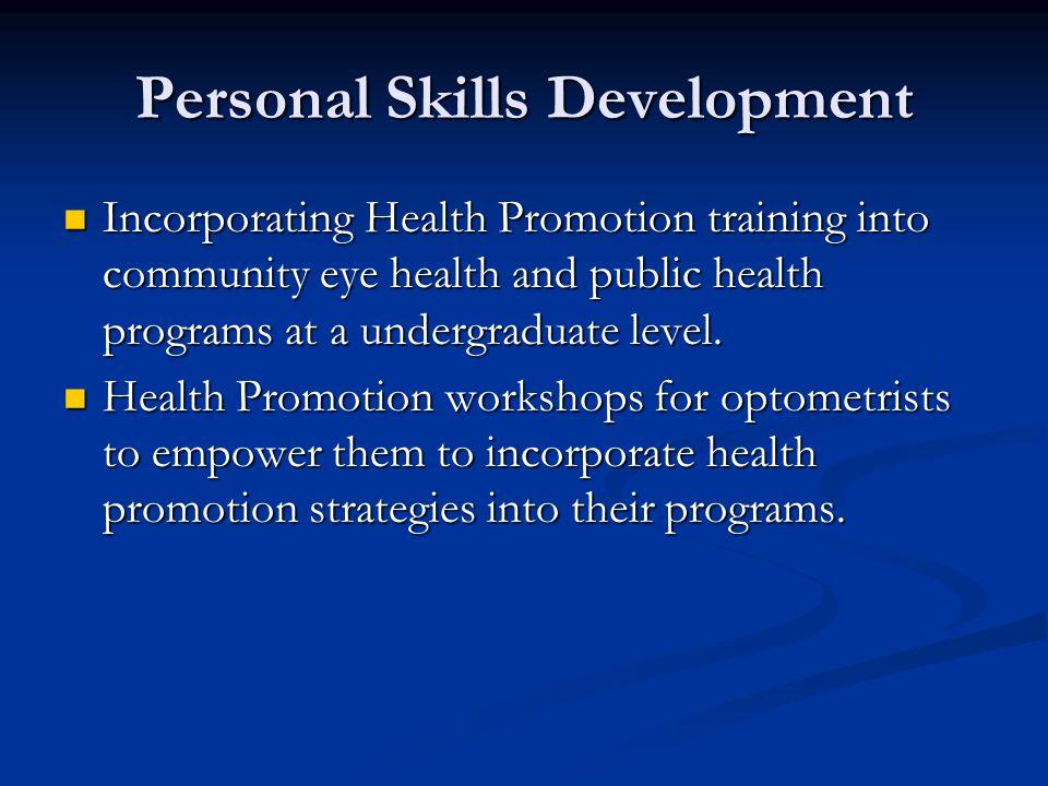 Personal Skills Development