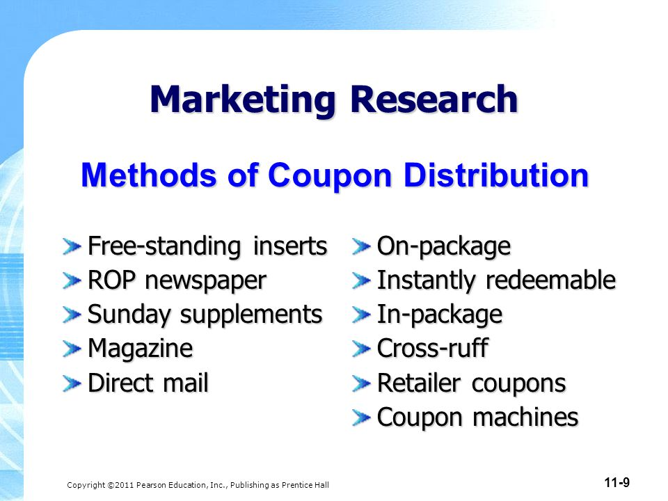 Methods of Coupon Distribution