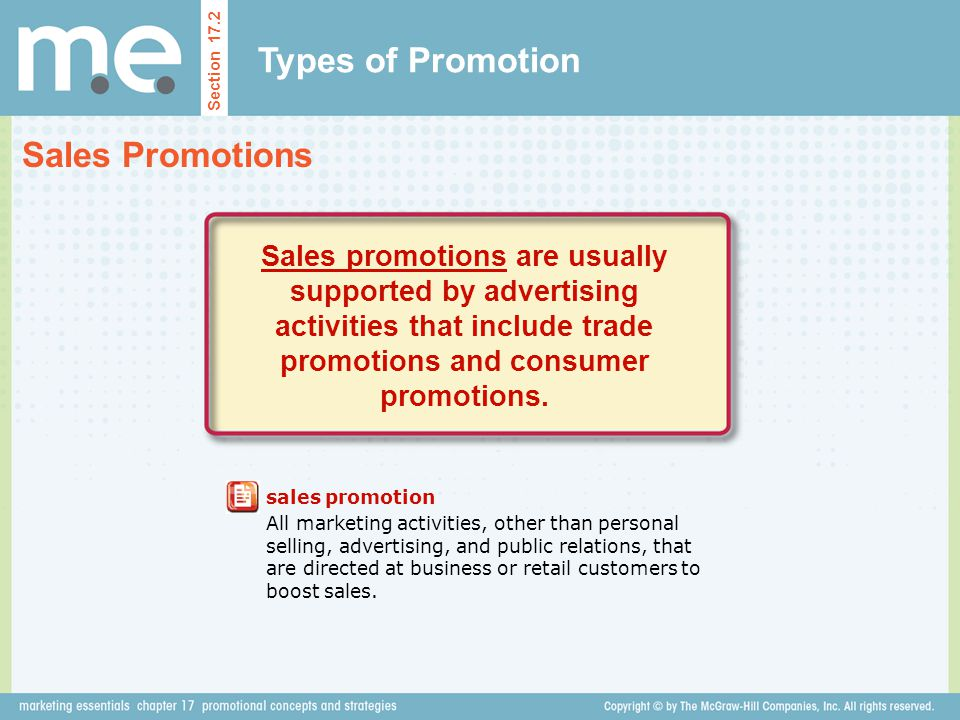 Chapter 17 promotional concepts and strategies Section ppt video ...