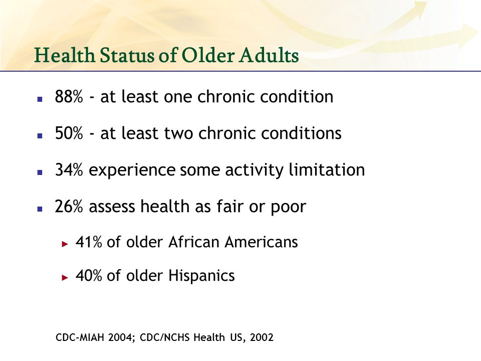 Health Status of Older Adults
