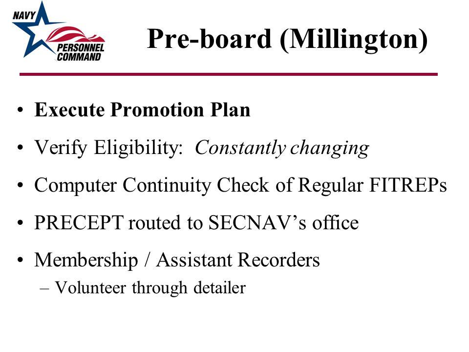 Pre-board (Millington)