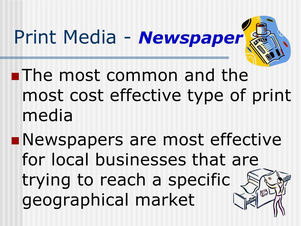 Print Media - Newspaper