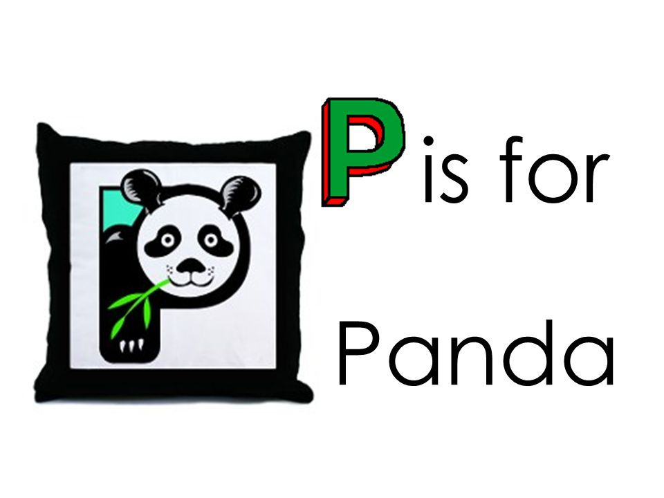 is for Panda