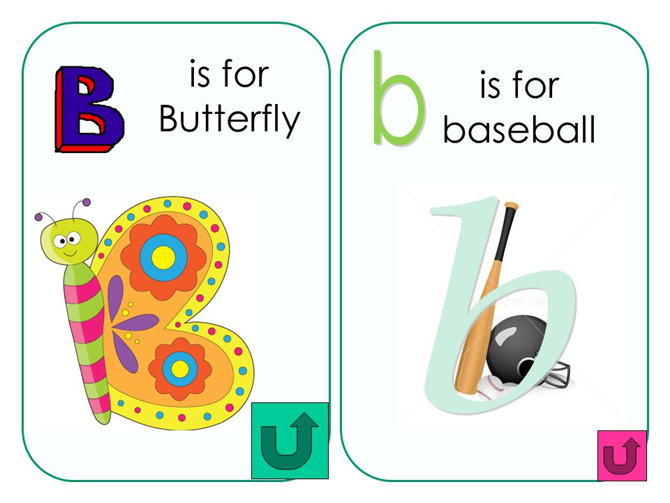 is for baseball b is for Butterfly b